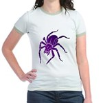 Purple Spider Jr. Ringer T-Shirt