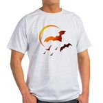 Flying Vampire Bats Light T-Shirt