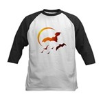 Flying Vampire Bats Kids Baseball Jersey