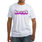 Retro Treat Fitted T-Shirt