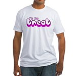 Retro I'm the Treat Fitted T-Shirt