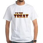 Glowing I'm the Treat White T-Shirt
