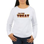 Glowing I'm the Treat Women's Long Sleeve T-Shirt