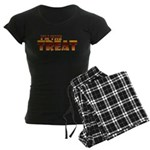 Glowing I'm the Treat Women's Dark Pajamas