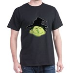 Happy Green Witch Dark T-Shirt