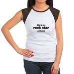 this is my rock star costume Women's Cap Sleeve T-Shirt