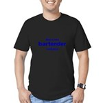 this is my bartender costume Men's Fitted T-Shirt (dark)