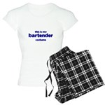 this is my bartender costume Women's Light Pajamas