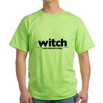 Generic witch Costume Green T-Shirt