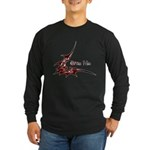 Bite Me Long Sleeve Dark T-Shirt