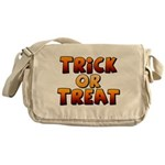 Trick or Treat Canvas Messenger Bag