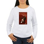 Distressed Retro DWTS Poster Women's Long Sleeve T-Shirt