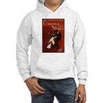 Distressed Retro DWTS Poster Hooded Sweatshirt