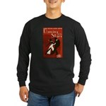 Retro Inspired DWTS Poster Long Sleeve Dark T-Shirt