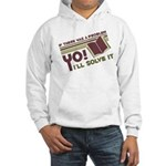 Yo! I'll Solve It Hooded Sweatshirt