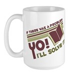 Yo! I'll Solve It Large Mug