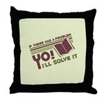 Yo! I'll Solve It Throw Pillow