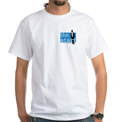 The Start - Blue Logo T-Shirt