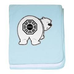 LOST: Dharma Initiative Polar Bear baby blanket