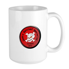Zombie Survival 2012 Large Mug