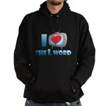 I Heart The L Word Dark Hoodie (dark)