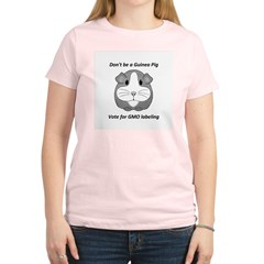 Vote for GMO labeling Women's Light T-Shirt