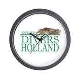 Zeeland Divers Holland Clock - Time to go diving!