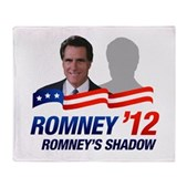 Anti-Romney Shadow Stadium Blanket