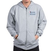 Anti-Romney: Fire People Zip Hoodie