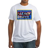 Greetings from the President Fitted T-Shirt