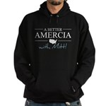 A Better Amercia with Mitt! Dark Hoodie (dark)