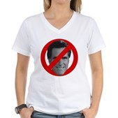 No Mitt Women's V-Neck T-Shirt