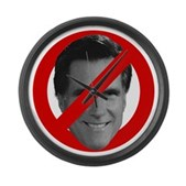 No Mitt Large Wall Clock