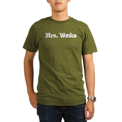 Mrs. Wonka Organic Men's T-Shirt (dark)
