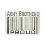 Military Army Brothers Proud Rectangle Magnet
