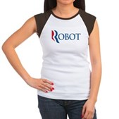 Anti-Romney ROBOT Women's Cap Sleeve T-Shirt