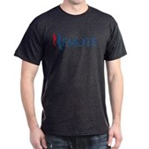 Anti-Romney Remote Dark T-Shirt