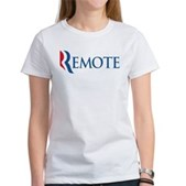 Anti-Romney Remote Women's T-Shirt