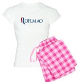 Anti-Romney ROFLMAO Women's Light Pajamas