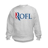 Anti-Romney ROFL Kids Sweatshirt