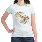 Best Thing Since Sliced Bread Jr. Ringer T-Shirt
