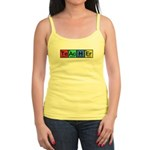 Teacher made of Elements colors Jr. Spaghetti Tank
