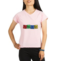 Teacher made of Elements whimsy Performance Dry T-Shirt