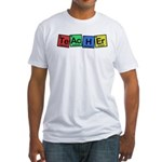 Teacher made of Elements whimsy Fitted T-Shirt