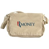 Anti-Romney RMONEY Messenger Bag