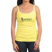 Anti-Romney RMONEY Jr. Spaghetti Tank