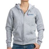Anti-Romney RMONEY Women's Zip Hoodie