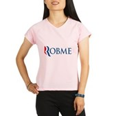 Anti-Romney Robme Performance Dry T-Shirt