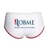 Anti-Romney Rob Me Robin Hood Women's Boy Brief