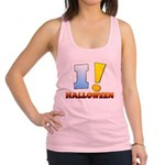I ! Halloween Racerback Tank Top